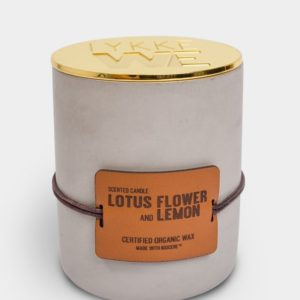 Duftlys Lotus Flower and Lemon large
