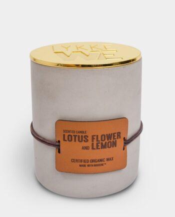 Duftlys Lotus Flower and Lemon large